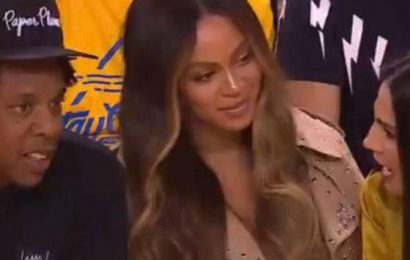 About That Look Beyoncé Delivered At The NBA Finals