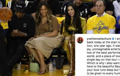 Beyoncé's Publicist Is Asking Fans To Be Kinder After *That* NBA Moment Got Out Of Hand