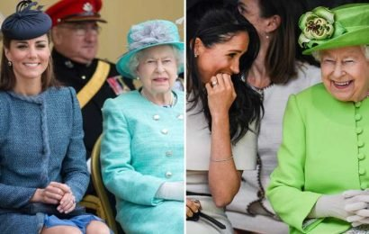 The Queen 'doesn't have an intimate relationship with Kate Middleton' but Meghan Markle 'knows how to make her laugh', royal editor claims – The Sun
