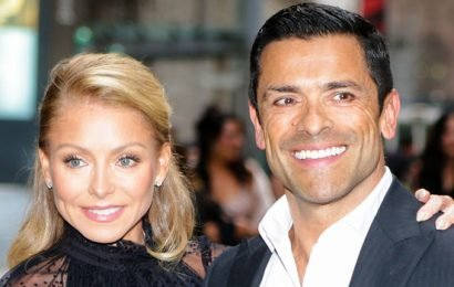 Kelly Ripa and Mark Consuelos Had a Color-Coordinated Date Night for a Good Cause