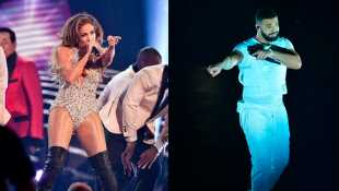 Jennifer Lopez Hilariously Calls Ex Drake A 'Booty Call' During LA Concert