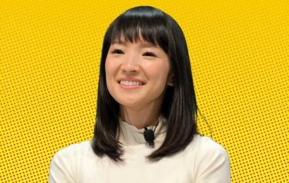 Marie Kondo once fixed a marriage with her tidying methods
