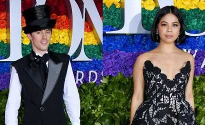 Hadestown's Reeve Carney & Eva Noblezada Attend the Tony Awards 2019!