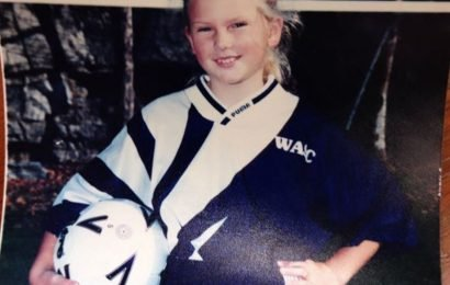Who Knew Taylor Swift Was A Soccer Superstar??