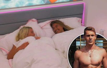 Love Island's Charlie Frederick stunned as his exes Lucie and Arabella jump into bed together – The Sun