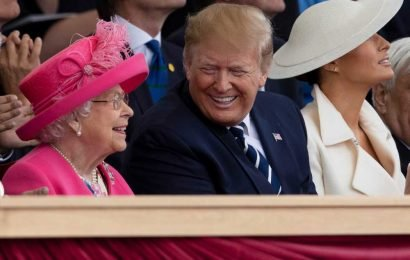 Why Trump's critics had a royal meltdown over his visit with the Queen