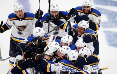 St. Louis hosts first Stanley Cup Final game in 49 years: 'City has gone crazy'