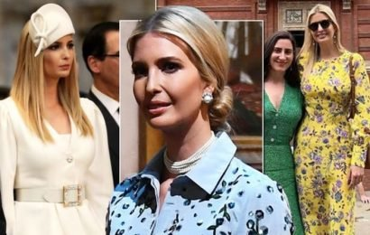 Ivanka Trump wears £14k worth of clothes on her first day in the UK