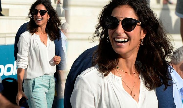 Rafael Nadal girlfriend: Xisca Perello turns heads in patterned trousers and floaty shirt