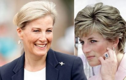 Sophie Countess of Wessex and Princess Diana share this jewellery link
