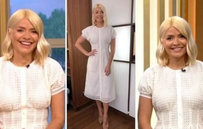 Holly Willoughby splashes the cash on ITV This Morning dress – where to buy her look