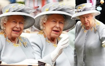 Royal Ascot 2019: The Queen adds a pop of colour in yellow and grey suit for Ladies Day