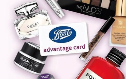 Boots UK advantage card holders can get £10 worth of points by doing this