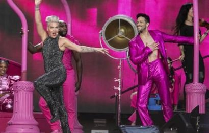 Music fans tickled P!nk as RDS is turned into 'Funhouse'