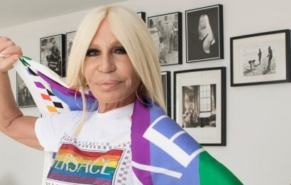 Donatella Versace Has Long Been a Gay Icon. Now It's Official.