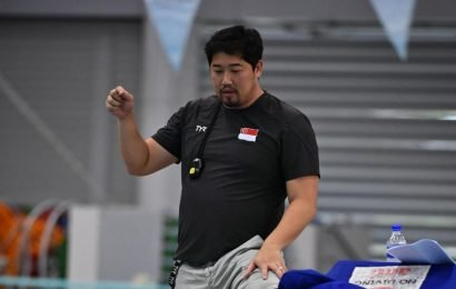 Up-and-coming swimmers full of 'heart' and are 'outstanding', says NTC head coach Gary Tan