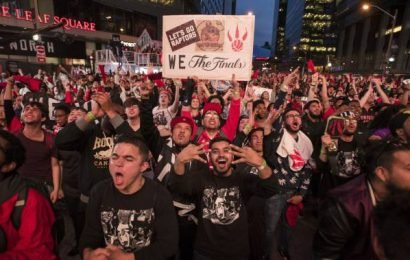 Young Torontonians say watching the Raptors has become 'overwhelming'