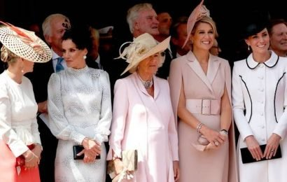 The fab five: what Sophie, Letizia, Camilla, Máxima and Kate wore for a meeting of royal style icons