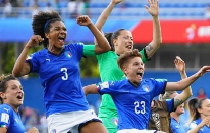 Women's World Cup: How resurgent Italy grabbed attention of a nation