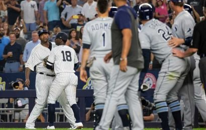 CC Sabathia in middle of more Yankees-Rays bad blood as benches clear