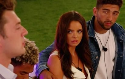 Love Island fans spot Maura 'death stare' and other amazing reactions to Curtis
