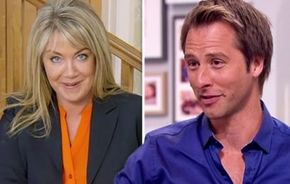 Homes Under The Hammer star Lucy Alexander pleads with Chesney Hawkes 'Help me out!'