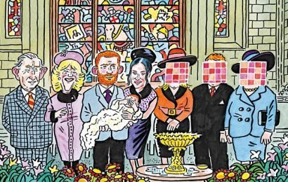 PAUL THOMAS on… Baby Archie's mystery godparents