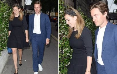 Princess Beatrice looks stunning in chic black outfit