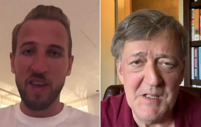 Harry Kane and Owen Farrell wish England good luck for World Cup final