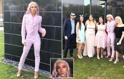Teen who was bullied for being gay arrives at school prom in drag
