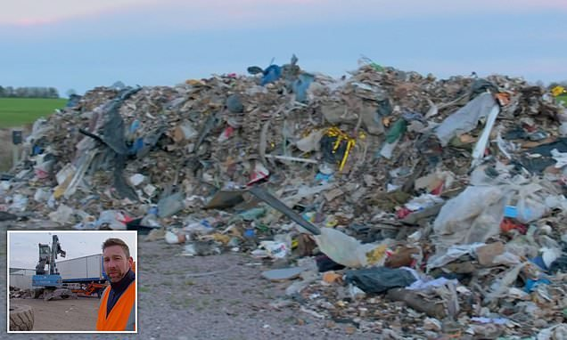 Waste enforcement officer forced to delve through 50 tonnes of rubbish
