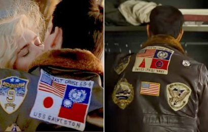 Top Gun viewers spot missing Japanese and Taiwanese flags