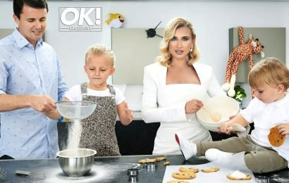 Billie Faiers and Greg Shepherd joined by adorable children Nelly and Arthur for incredible family OK! magazine shoot – ONLINE EXCLUSIVE