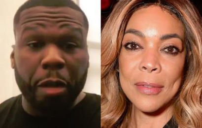 50 Cent Body-Shames Wendy Williams: This Bish is SO Scrawny!