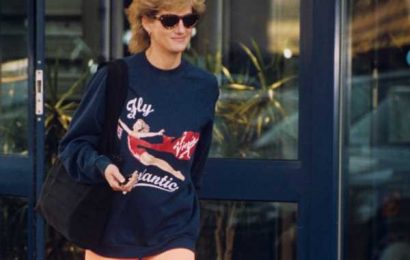 Princess Diana Wore The Same Sweatshirt EVERY Time She Worked Out For A Hilarious Reason