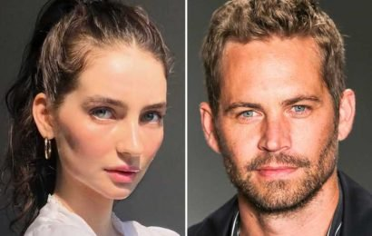 Paul Walker's daughter Meadow returns to Instagram after a month offline with stunning modelling shot