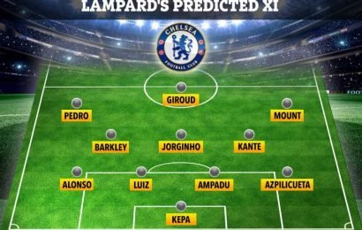 How Chelsea could line up in pre-season as Lampard takes the kids to Ireland – The Sun