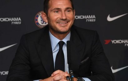 Lampard's first Chelsea press conference was like a wedding with family sitting at the front to witness his vows – The Sun
