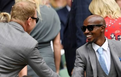 Who's in the Wimbledon 2019 Royal Box today? Mo Farah, Chris Hoy and Gareth Southgate watch the action on day six