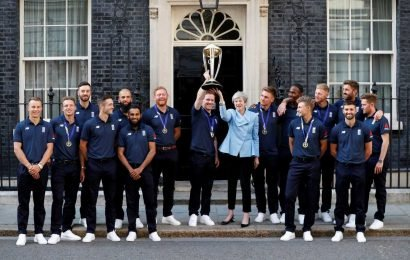 England's Cricket World Cup heroes celebrate at glitzy Downing Street bash with Theresa May – The Sun