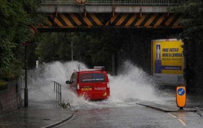UK weather forecast – Warning 'severe' thunderstorms could spark 'danger to life' floods this week – The Sun