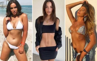 The 'hip tease' is the latest sexy Instagram pose stars from Vicky Pattison to Ashley Graham are loving