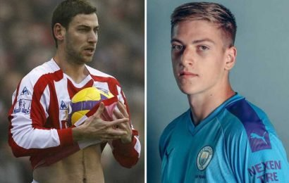 Man City sign long throw-in specialist Rory Delap's son Liam – The Sun