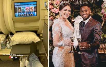 Man Utd midfielder Fred gets married in Brazil… before jetting late to Australia for pre-season tour – The Sun