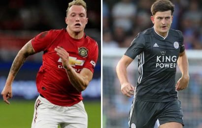 Man Utd could offer Phil Jones to Leicester as makeweight in £80m Harry Maguire transfer – The Sun