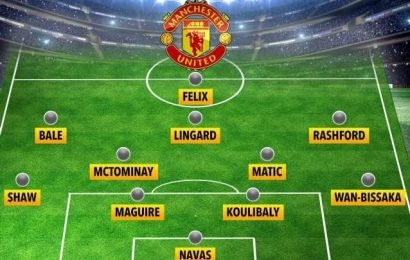 How Man Utd could line up next season with Bale, Maguire and Felix but no De Gea or Pogba