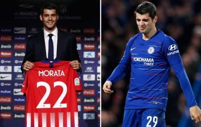Flop Alvaro Morata ends Chelsea hell with £50m permanent transfer to Atletico Madrid – The Sun