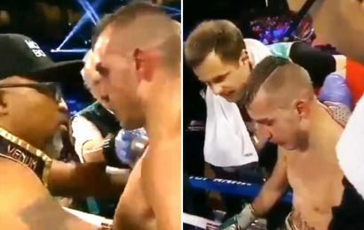Maxim Dadashev's trainer begged tragic boxer to stop fighting before pulling him out – The Sun
