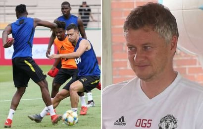 Solskjaer transforming Man Utd into counter attacking kings by putting stars through brutal training regime – The Sun