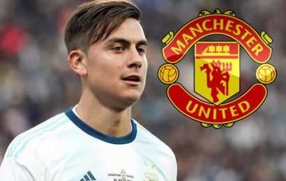 Man Utd boosted in Paulo Dybala transfer pursuit with Juventus 'willing to sell for £70m-£90m' – The Sun